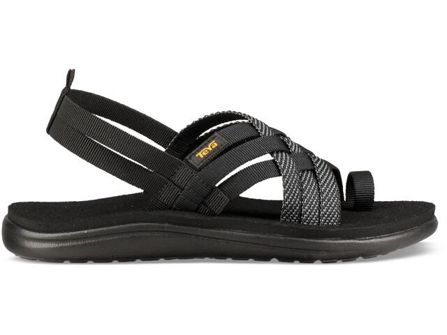 Teva Voya Strappy Sandals Women hera black
